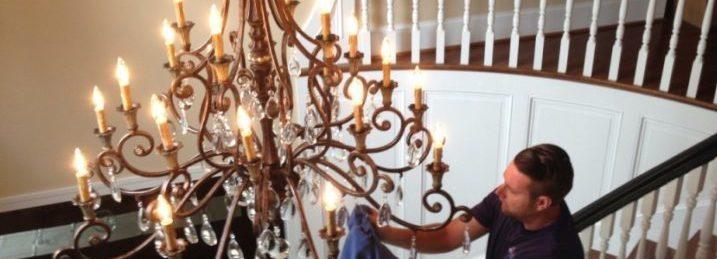 Home  Chandelier & Light Fixture. Chandelier cleaning
